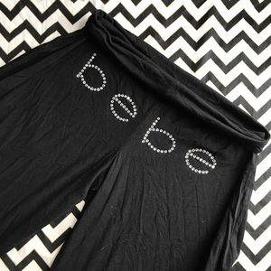 BEBE wide leg Capri sz M
